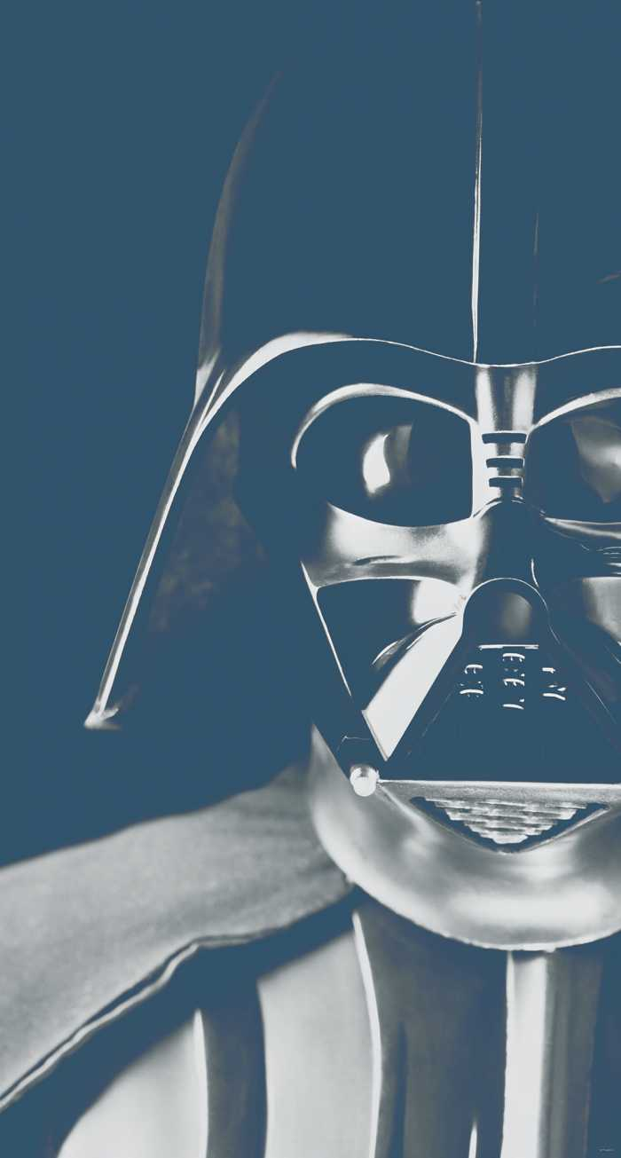 Digital wallpaper Star Wars Classic Icons Vader