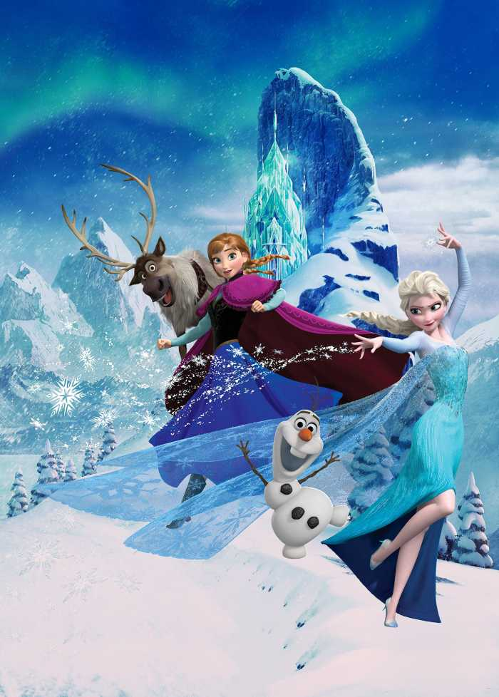 Digital wallpaper Frozen Elsas Magic