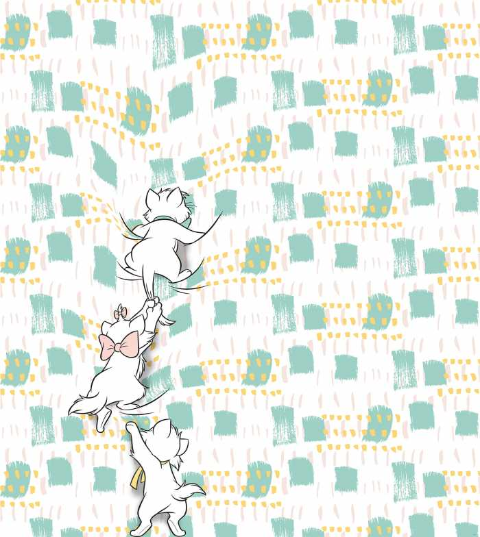 Digital wallpaper Kitty Climbers