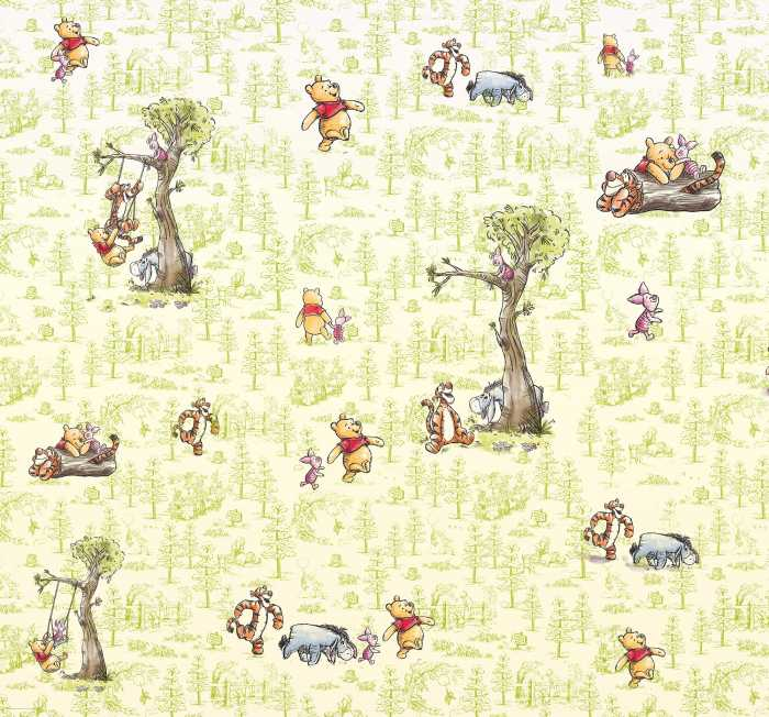 Digital wallpaper Winnie Pooh Friends