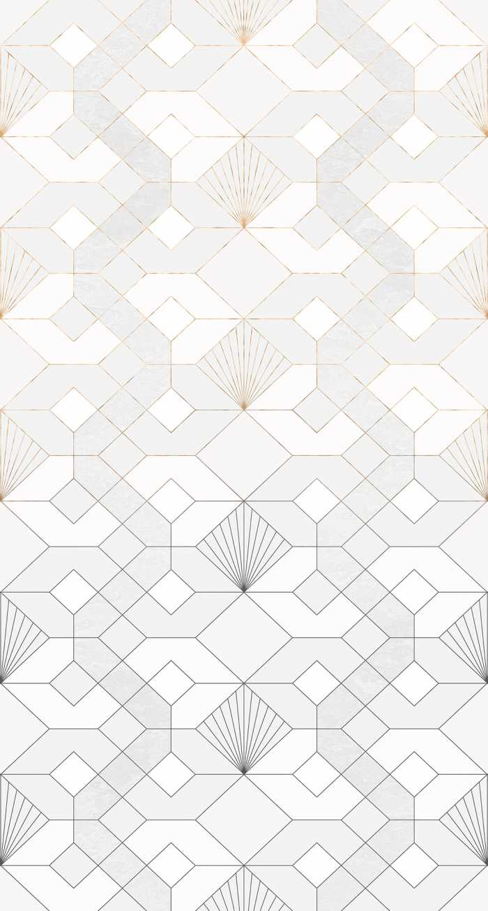 Digital wallpaper Coquilles Blanches