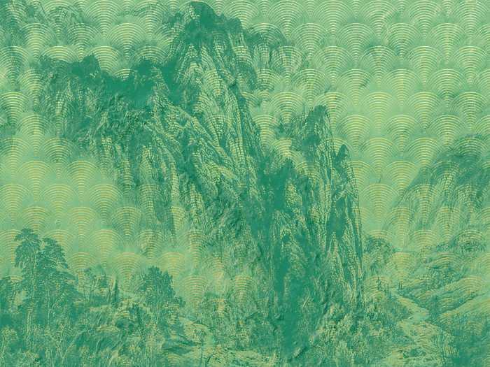 Digital wallpaper Montagnes
