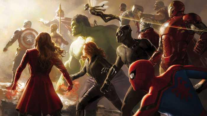 Digital wallpaper Avengers Final Battle
