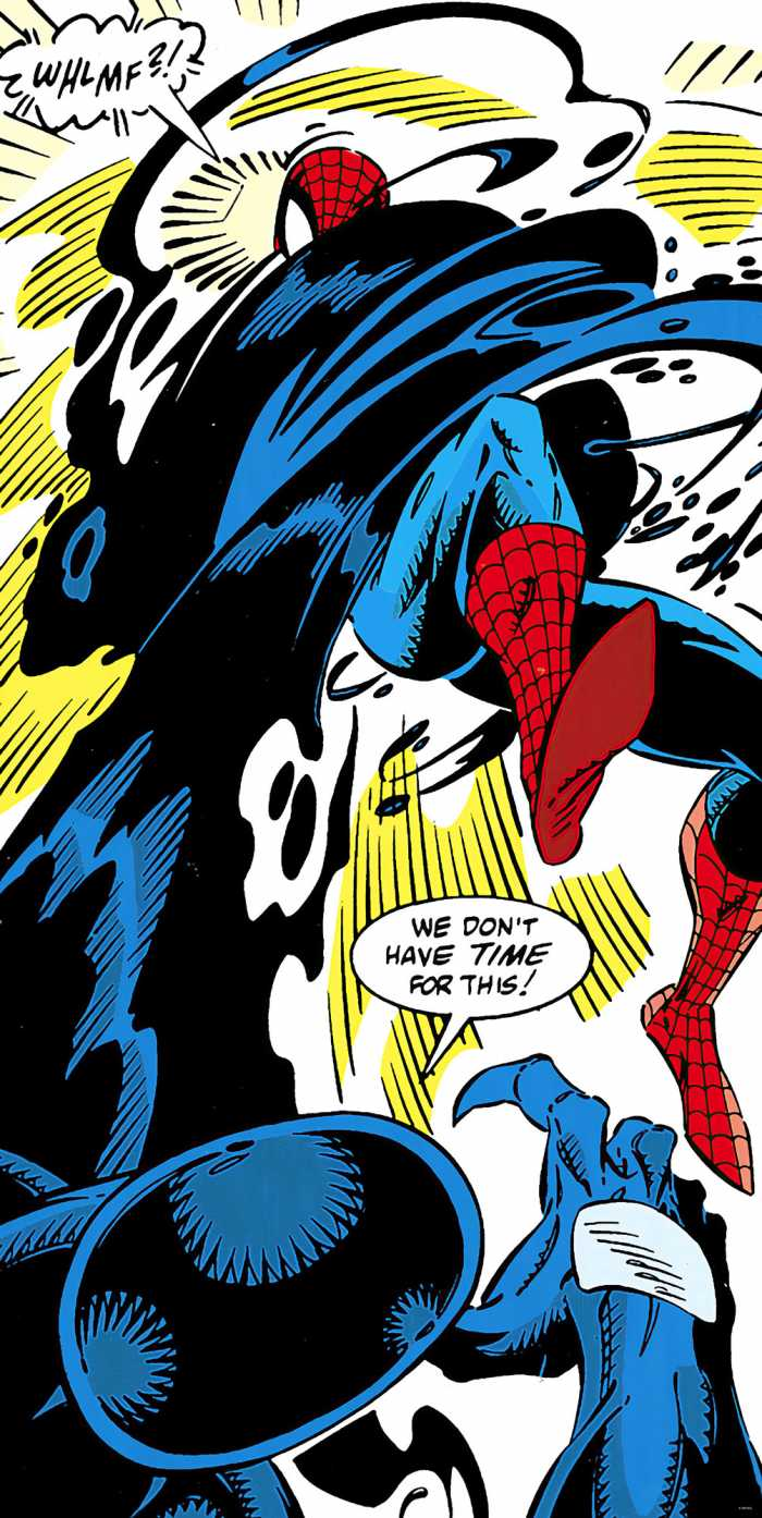 Digital wallpaper Spider-Man Retro Comic