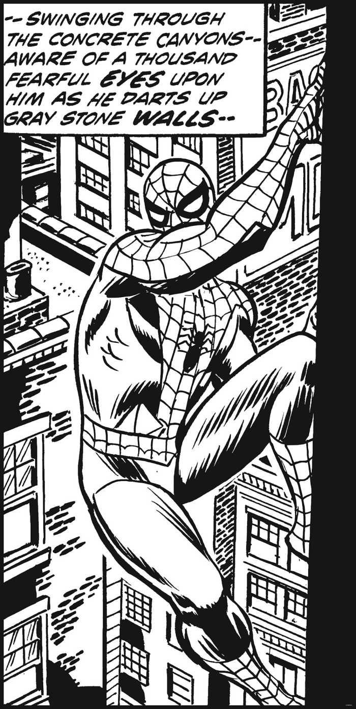 Digital wallpaper Spider-Man Classic Climb