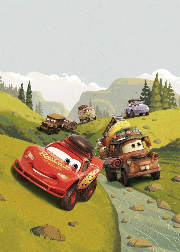 Digital wallpaper Cars Camping