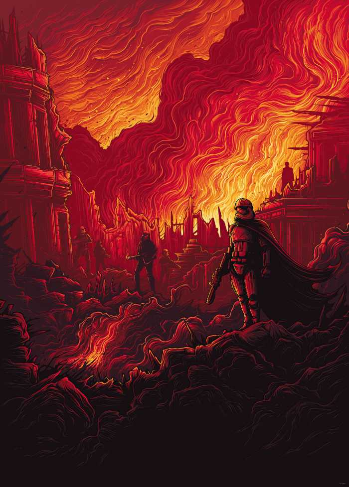 Digital wallpaper Star Wars First Order Purge