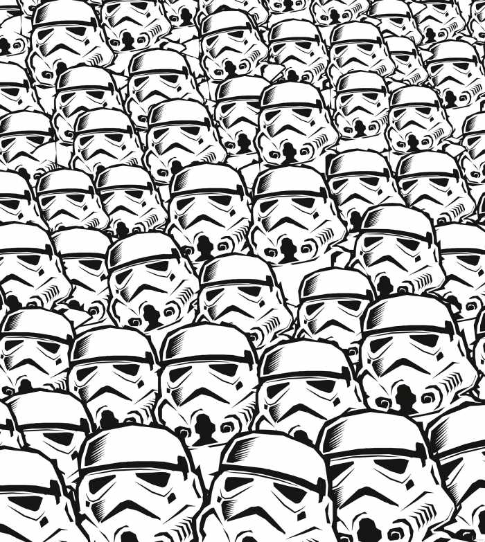 Digital wallpaper Star Wars Stormtrooper Swarm