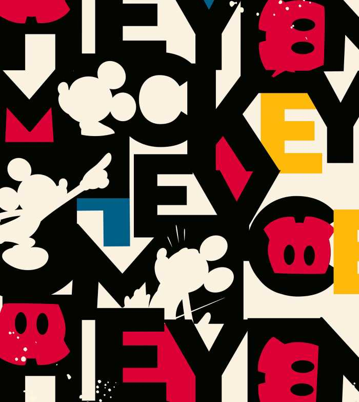 Digital wallpaper Mickey Mixup