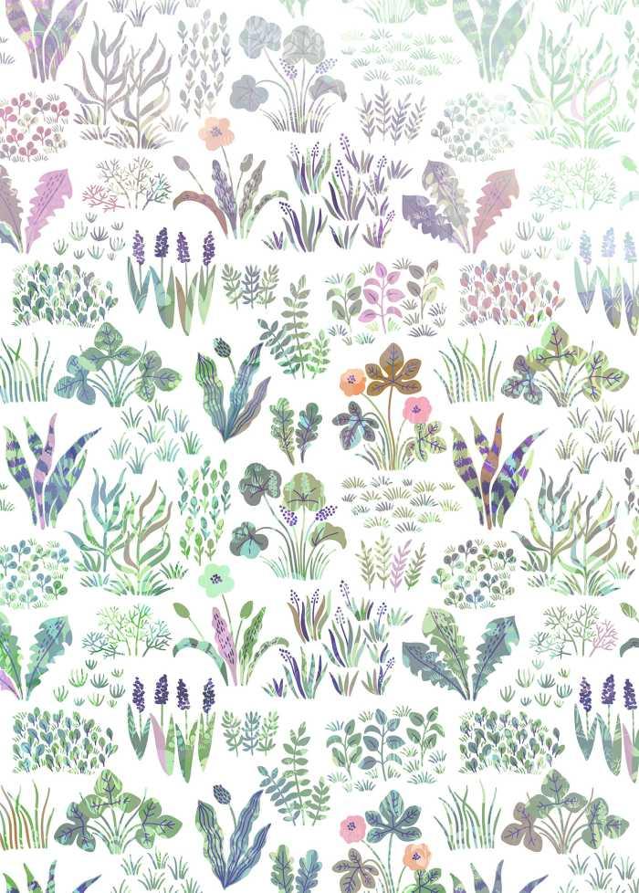 Digital wallpaper Flower Farm
