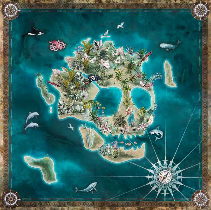 Digital wallpaper Skull Island
