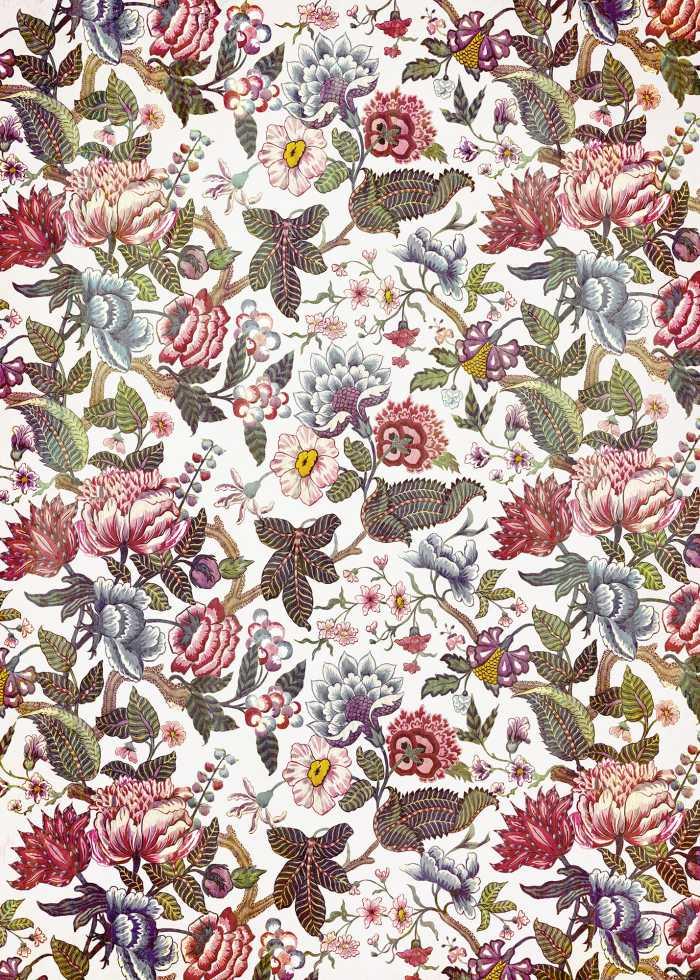 Digital wallpaper Fleurs de rêve