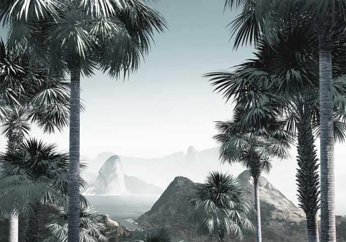 Digital wallpaper Guanabara