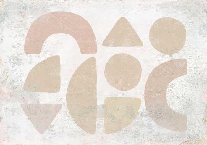 Digital wallpaper Impasto