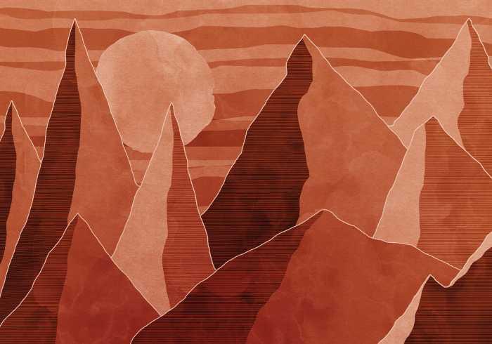 Digital wallpaper Desert Mile