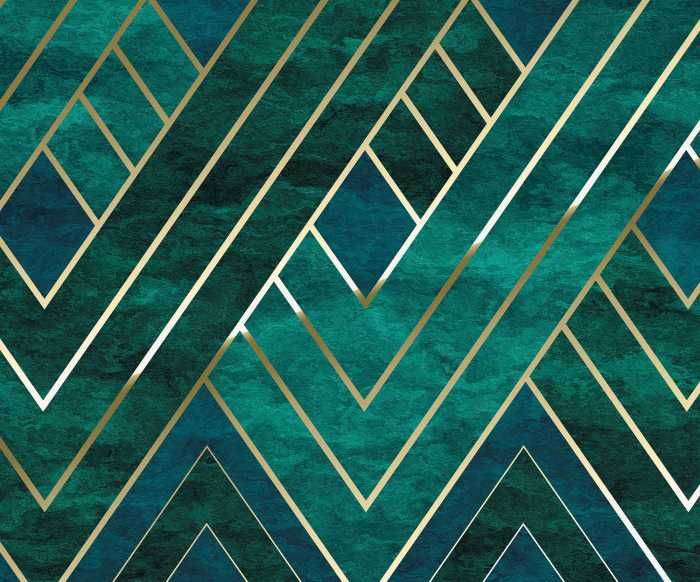 Digital wallpaper Artdeco