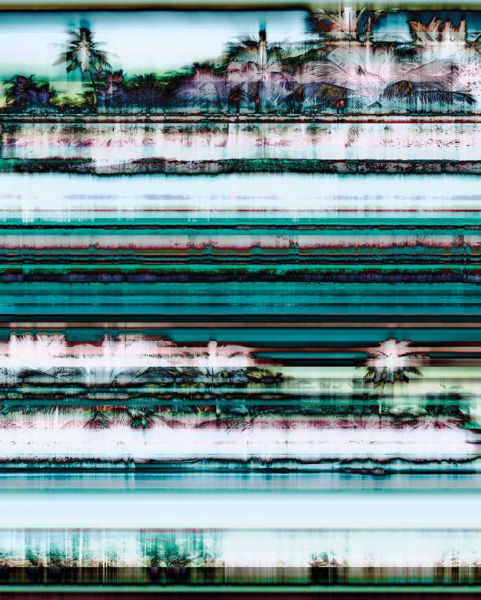 Digital wallpaper Miami Radio