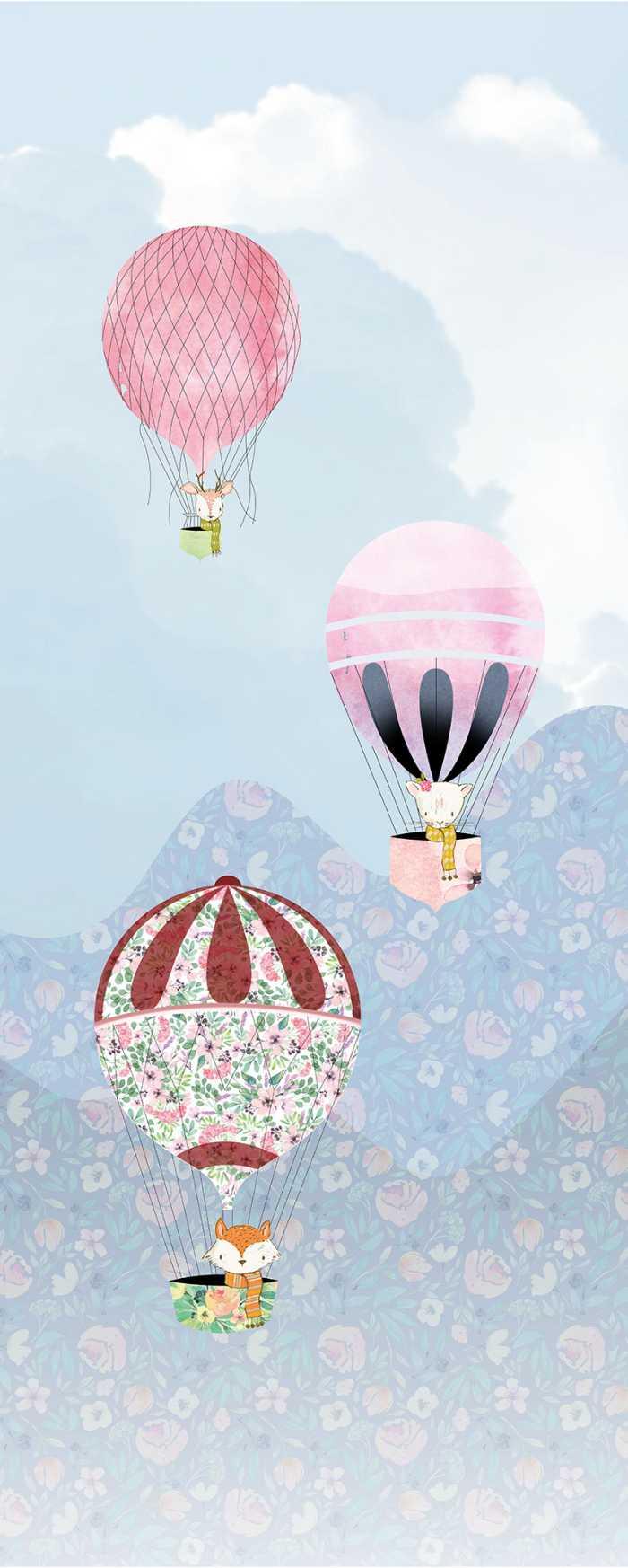 Digital wallpaper Happy Balloon