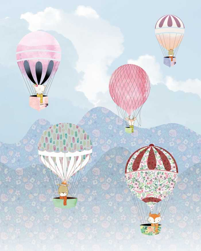 Digital wallpaper Happy Balloon