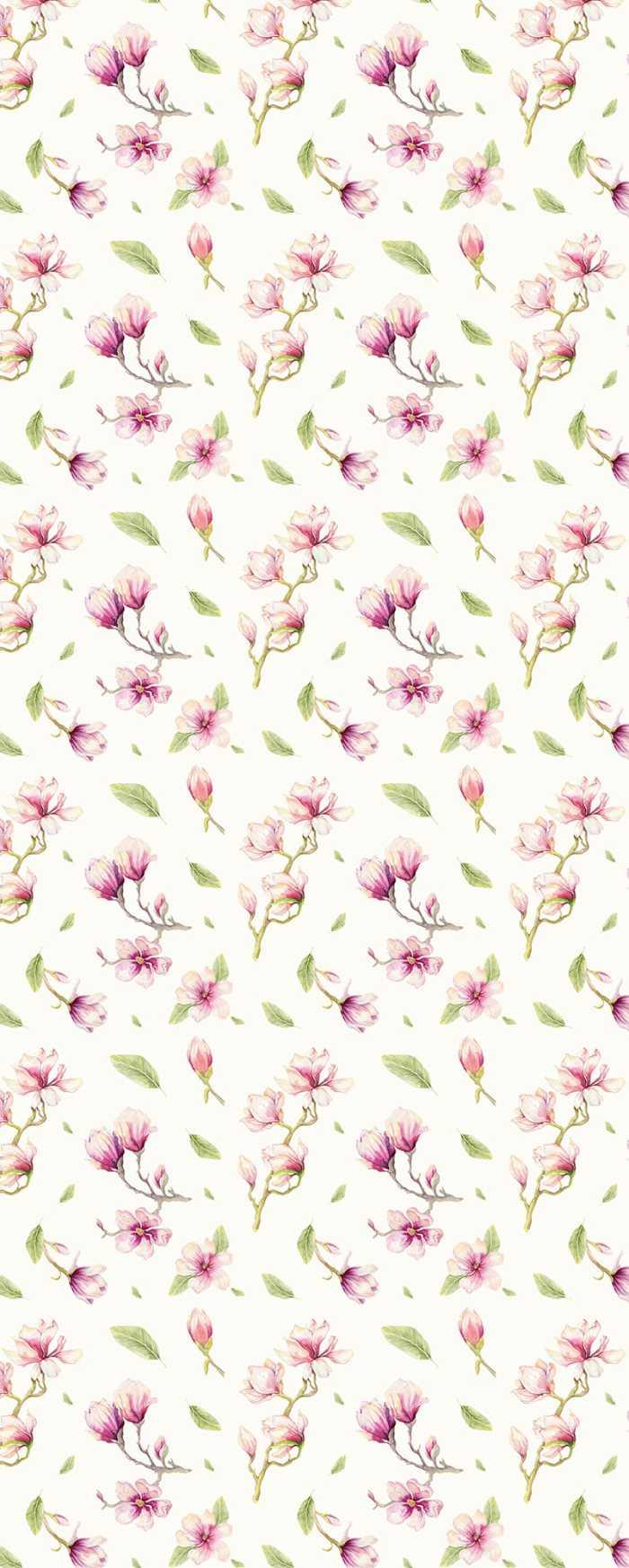 Digital wallpaper Magnolia Rapport