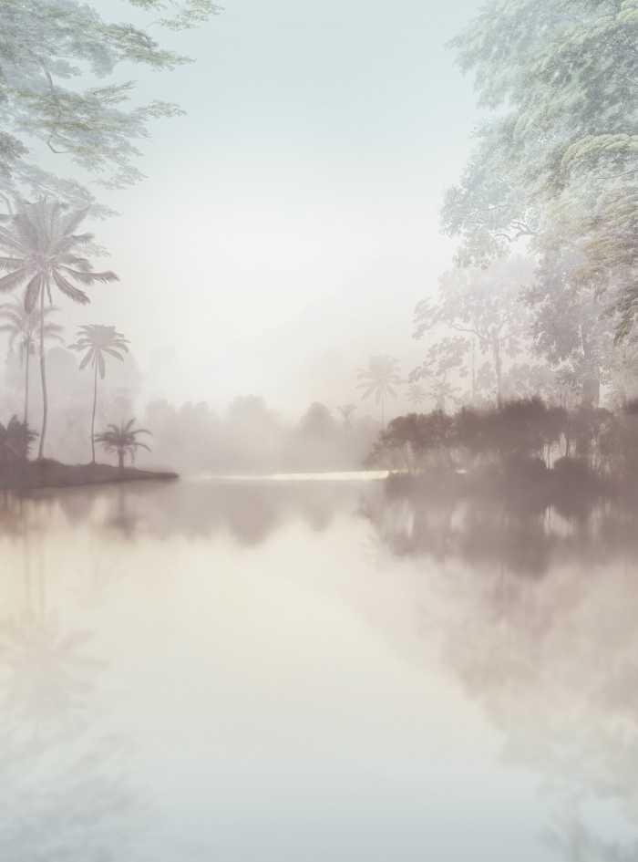 Digital wallpaper Lac Tropical Pure