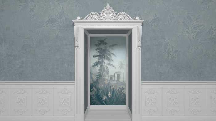 Digital wallpaper Niche