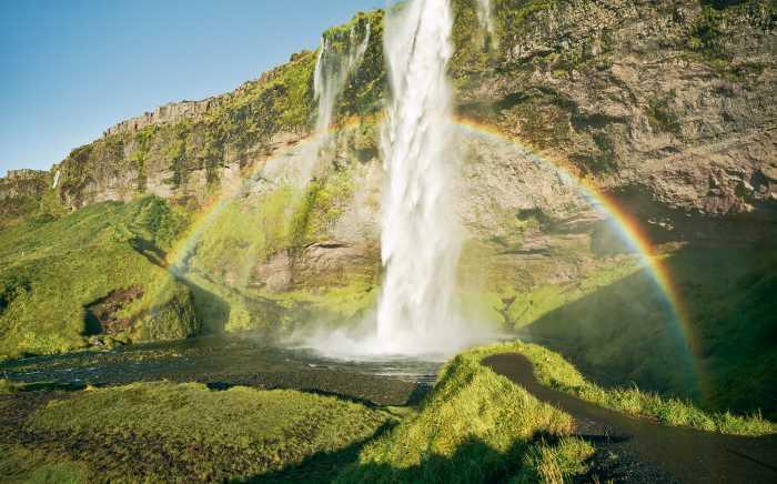 Digital wallpaper Power of Iceland