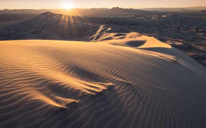 Digital wallpaper Mojave Heights