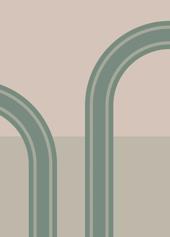 Non-woven photomural loop