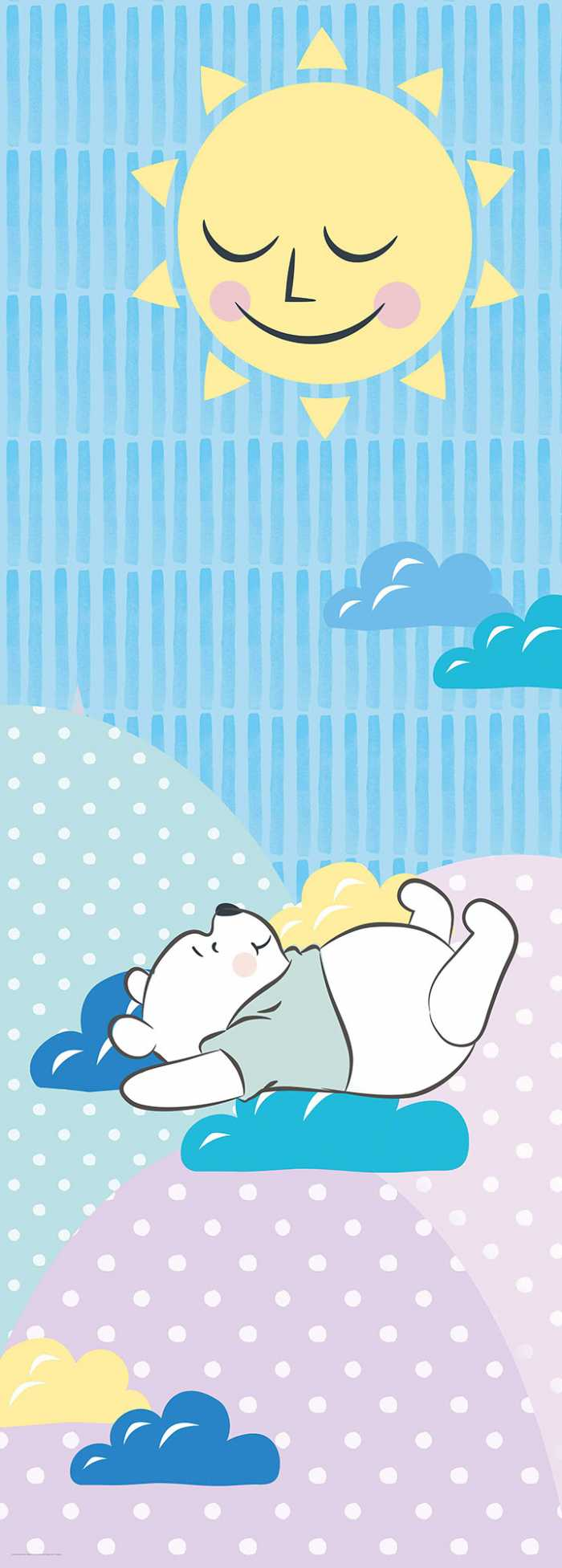 Digital wallpaper Winnie Pooh Take a Nap