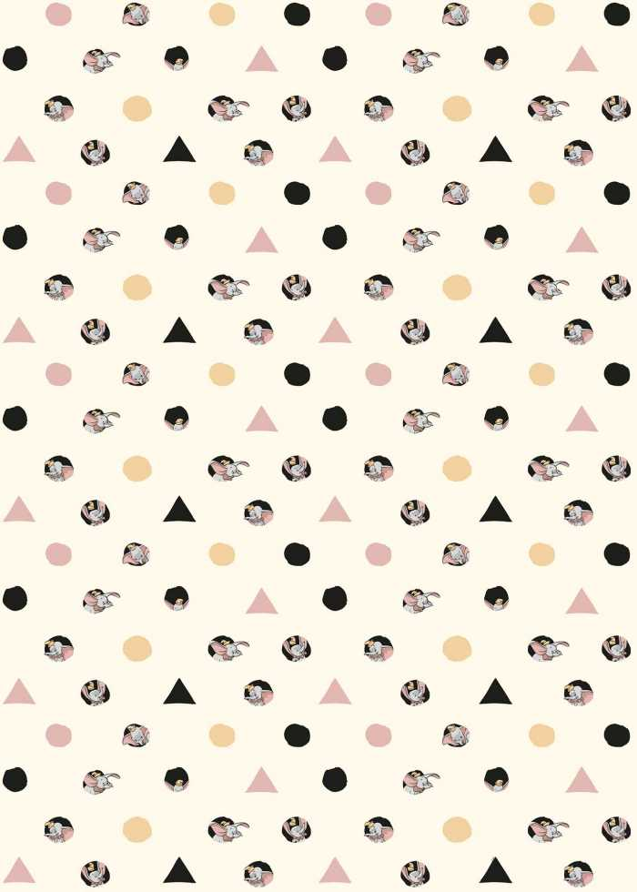 Digital wallpaper Dumbo - Angles & Dots