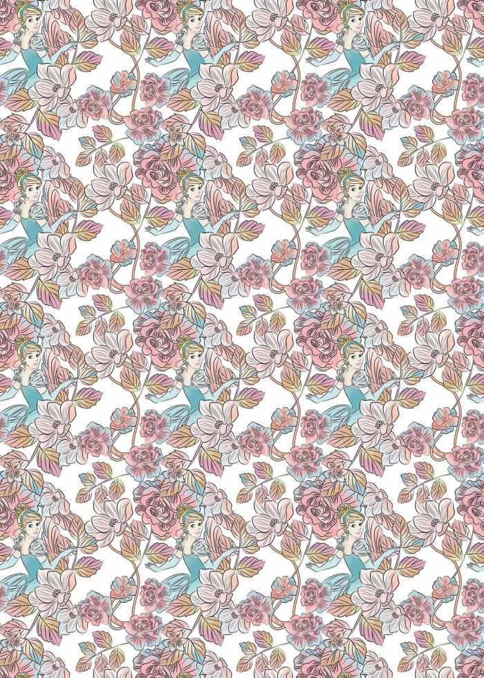 Digital wallpaper Cinderella Blossom