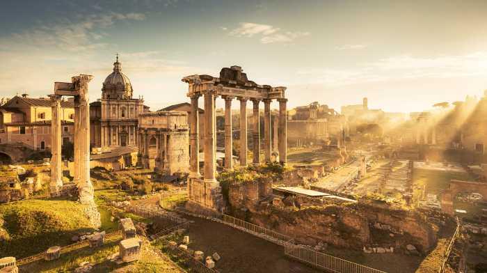 Digital wallpaper Forum Romanum