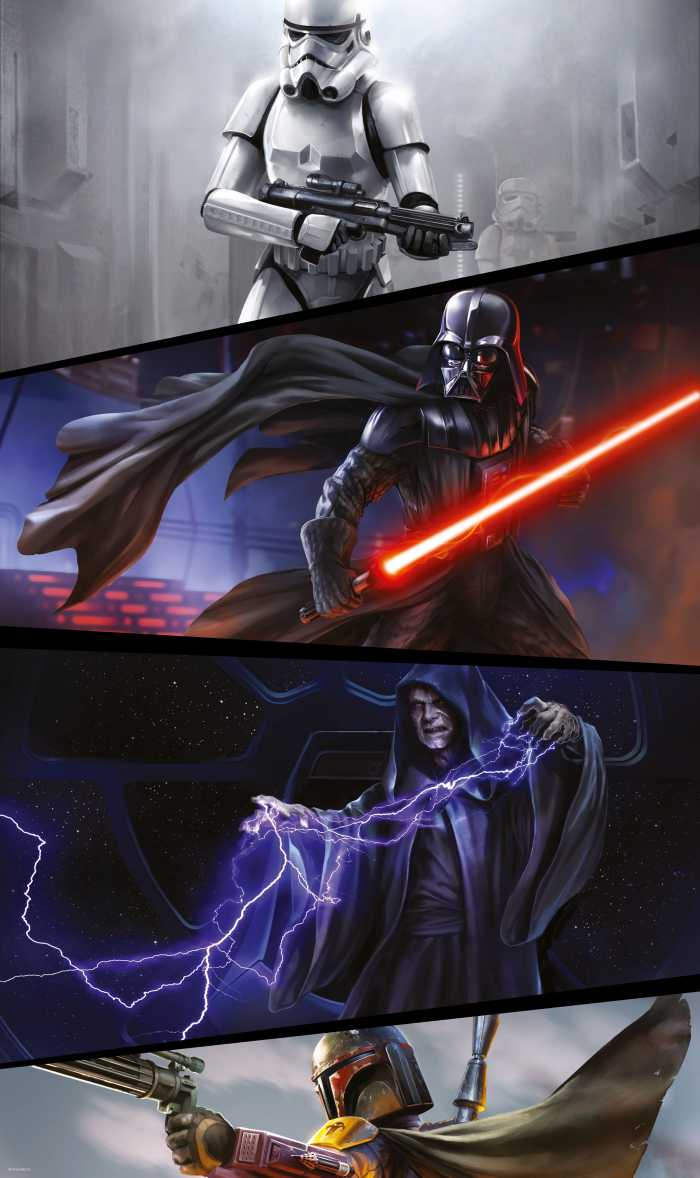 Panel Star Wars Moments Imperials