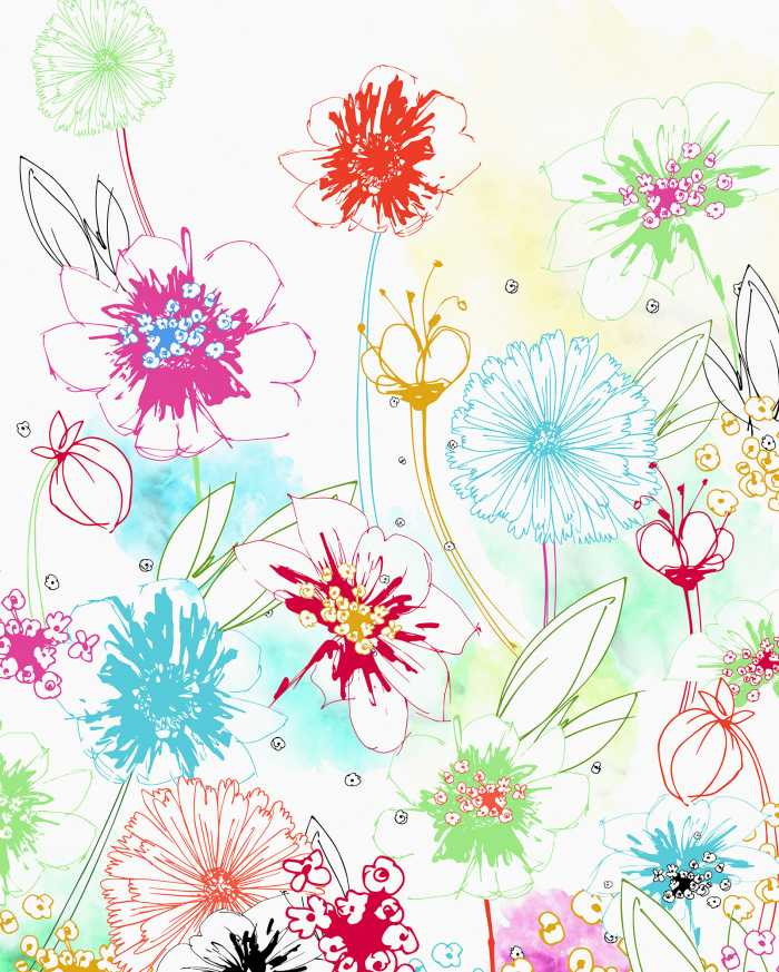 Digital wallpaper Joyful