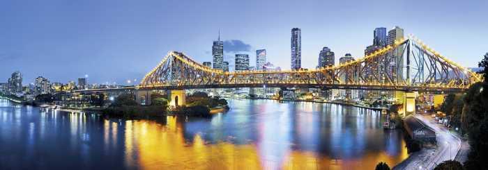 Digital wallpaper Brisbane