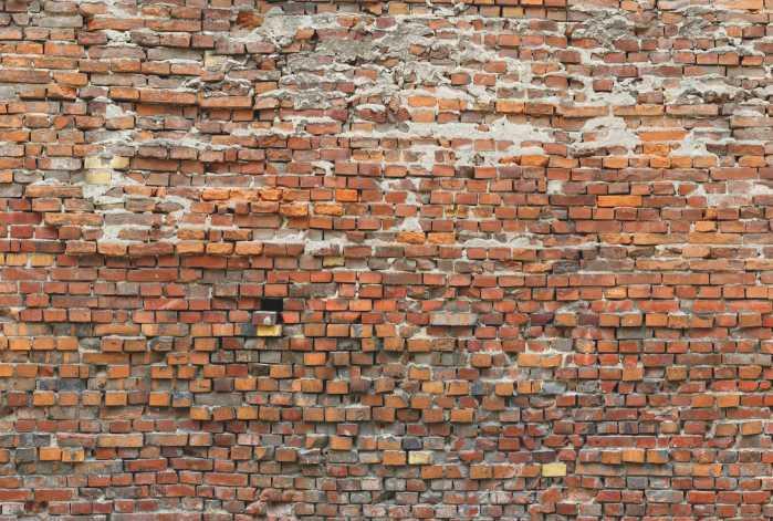 Non-woven photomural Bricklane