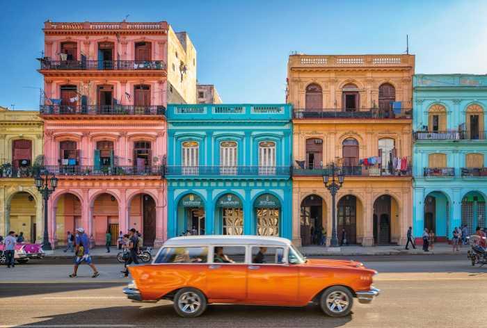 Non-woven photomural Havanna