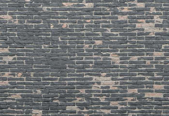 Non-woven photomural Painted Bricks