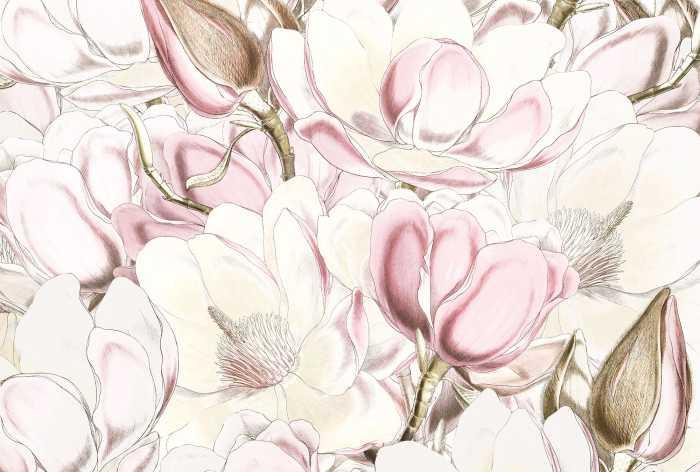 Non-woven photomural Petals