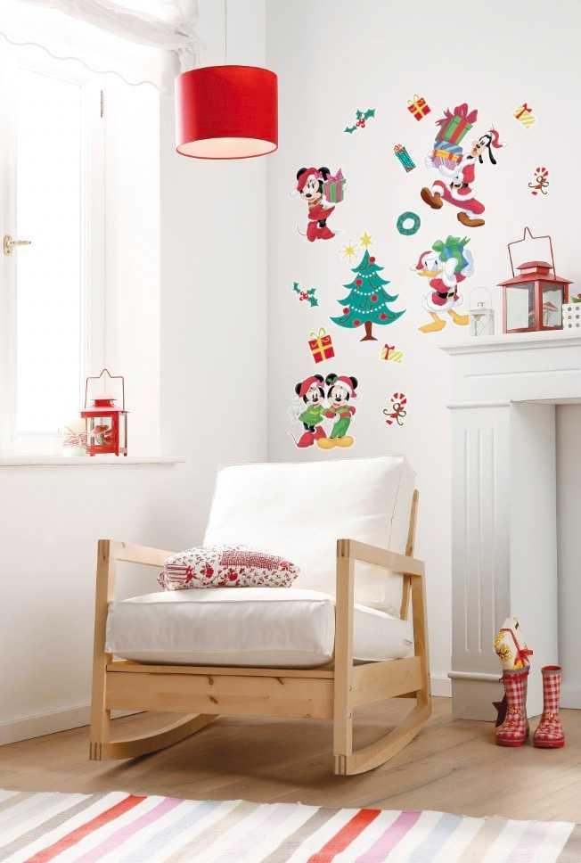 Wall tattoo Mickey Christmas Presents