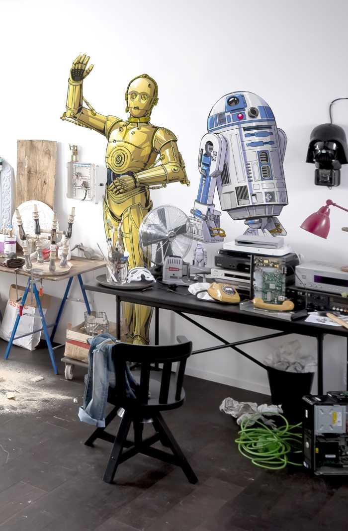 Wall tattoo Star Wars XXL C-3PO