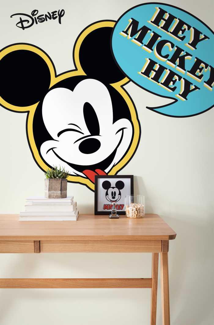 Wall tattoo Mickey Hey XXL