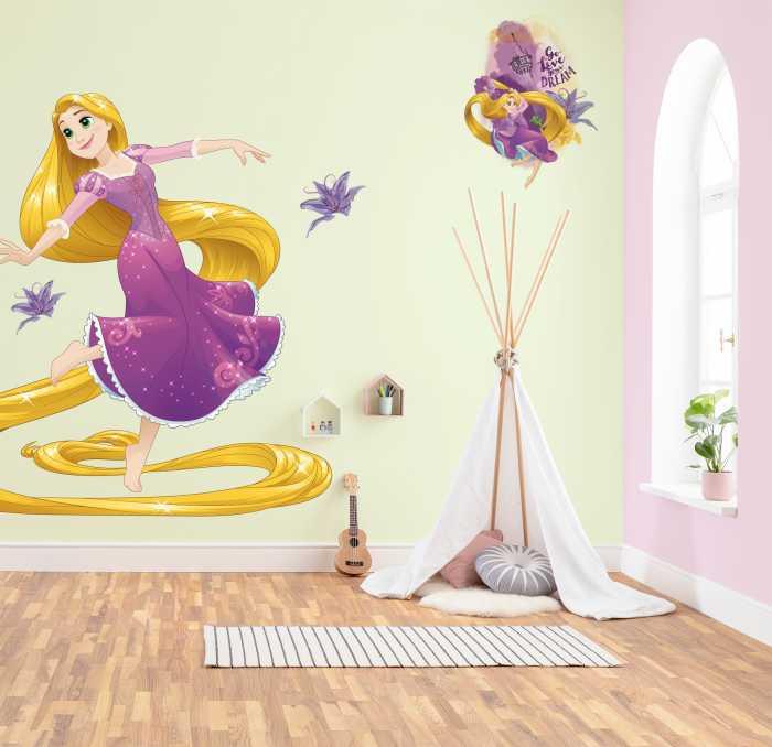Wall tattoo Rapunzel XXL