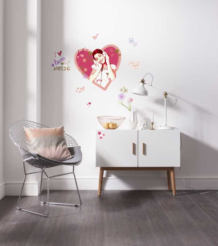 Wall tattoo Violetta