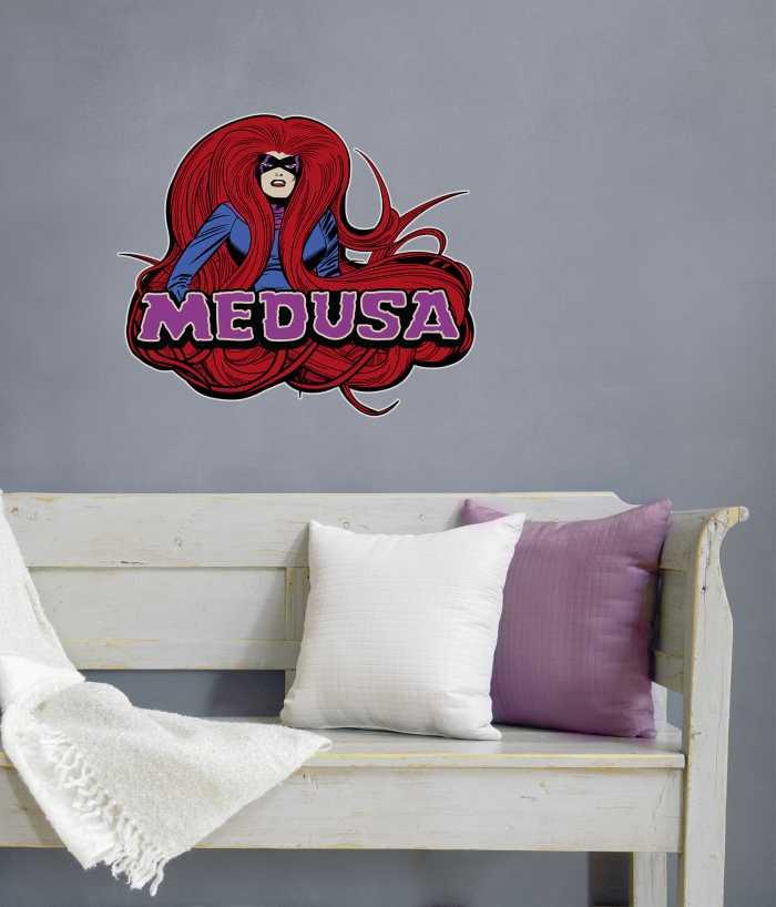 Wall tattoo Medusa Comic Classic