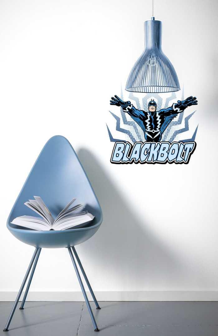 Wall tattoo Blackbolt Comic Classic