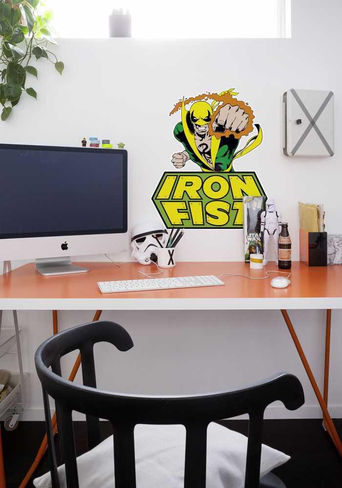 Wall tattoo Iron Fist Comic