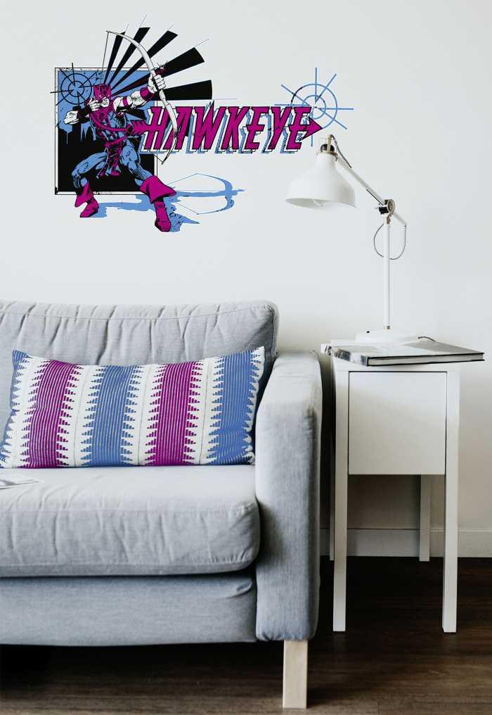 Wall tattoo Hawkeye Comic Classic