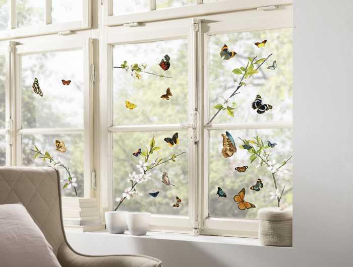 Window sticker Cheerful